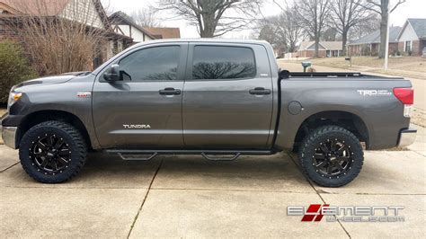 Toyota Tundra Black Rims 20x9 Moto Metal Mo962 Gloss Black Wheels On 2011 Toyota