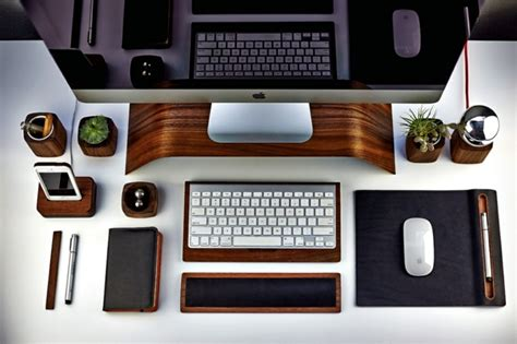 mac desk accessories desk accessories mouse pad keyboard tray co wood