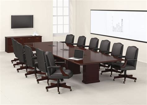 national office furniture barrington conference table and