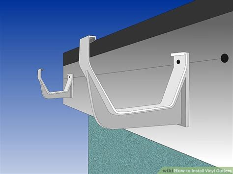 how to install gutters 12 steps ehow how to install vinyl gutters 13 steps with pictures
