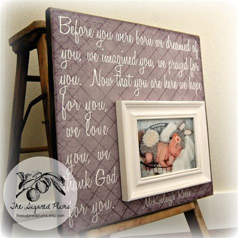 Frame Personalized baby picture frame baby frame personalized baby frame baby
