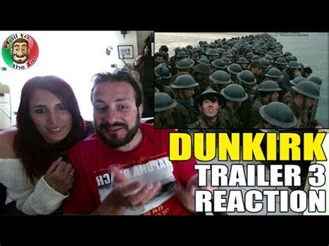 dunkirk trailer deutsch youtube dunkirk trailer 3 reaction by aldo jones e la zia youtube