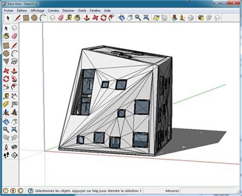 Logiciel Modélisation Maison Sculpture 3d