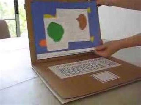 how to make cards on computer cardboard electronics