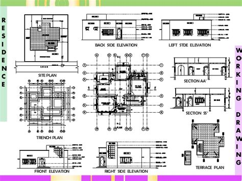 yamaguchi martin architects bim engine by archicad plan and section drawing pdf getpaidforphotos com