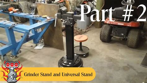 bench vice stand bench vise stand and universal stand build part 2 of 5