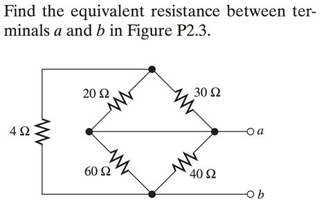 a resistor has a resistance of 30 at 20 homework and exercises finding the equivalent resistance physics stack exchange