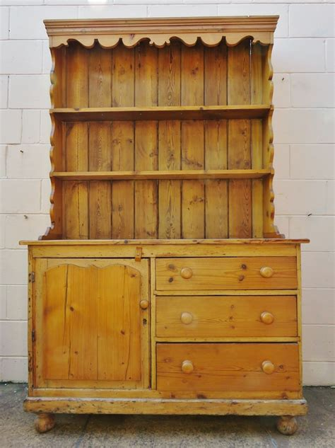 rustic country baltic pine antique wood kitchen cabinet