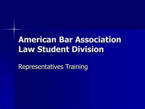 american bar association health law section ppt american bar association law student division