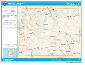 Map Of Wyoming State by Wyoming State Maps