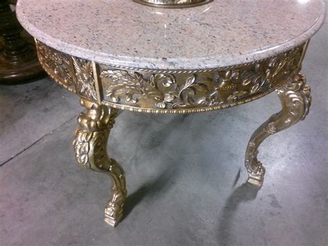 marble top entry gilt marble top foyer center 43 x 36 h