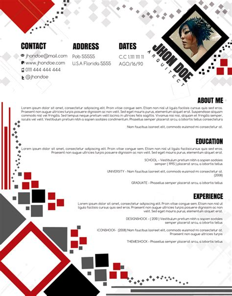 Attractive Cv Templates attractive cv template