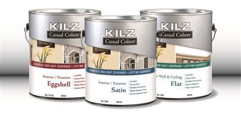 kilz casual colors paint
