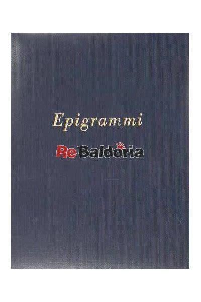 libreria zannoni epigrammi ugo zannoni ghidini fiorini libreria re