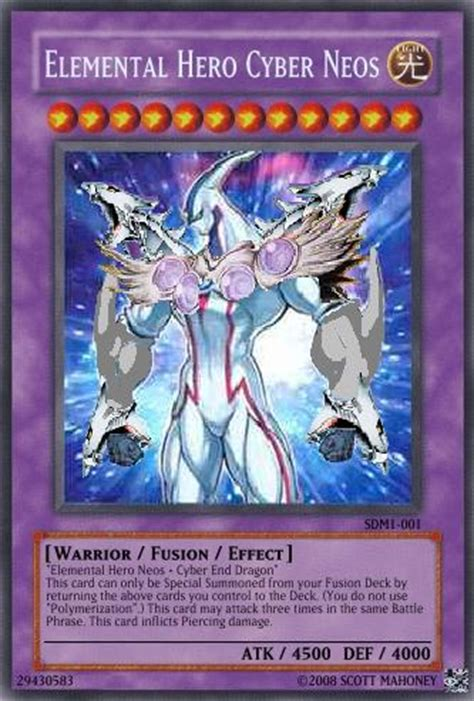 Yugioh Shining Original elemental cyber neos yu gi oh card maker wiki