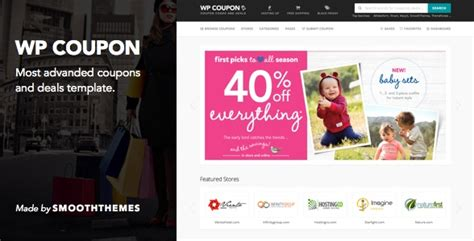 coupon site template best coupons and deals templates to start your own coupon
