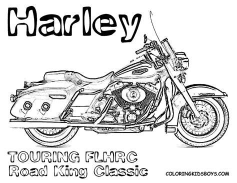 Harley Davidson Coloring Pages Harley Davidson Coloring