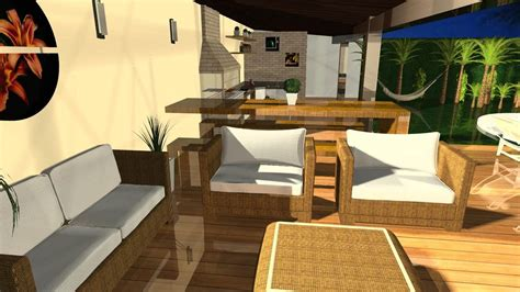Area Casa by Projetos De 193 Rea Externa Barbara Borges Projetos 3d