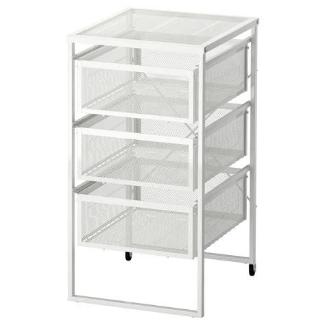 ikea metal drawer organizer lennart drawer unit white ikea
