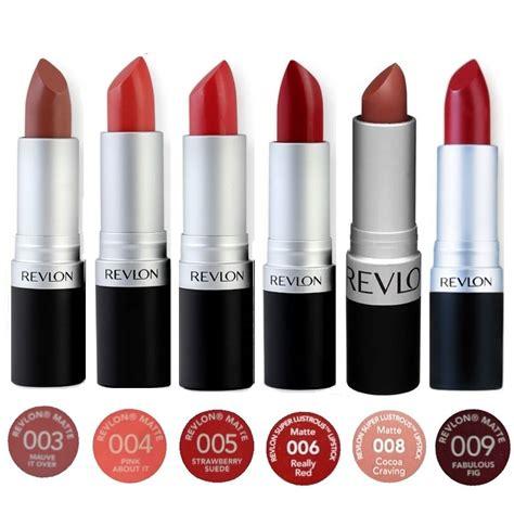Revlon Lustrous Matte Lipstick revlon lustrous matte lipstick 003 004 005 006