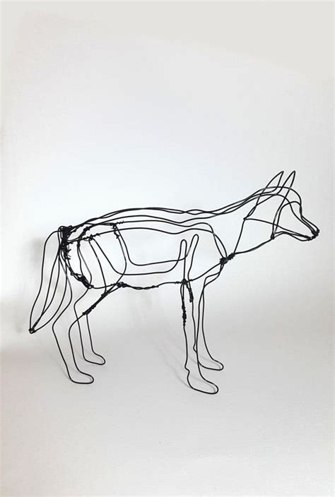 Wire Wolf Competition Wire 10 best wolf sculpture images on animal sculptures wire sculptures and animals