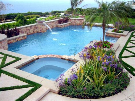 landscape around pool swimming pool landscape designs unthinkable landscaping