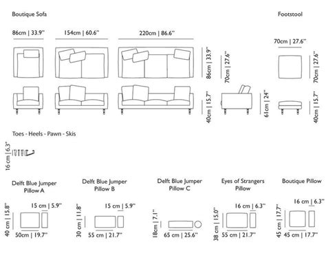 couch length 17 best images about dimensions on pinterest sectional