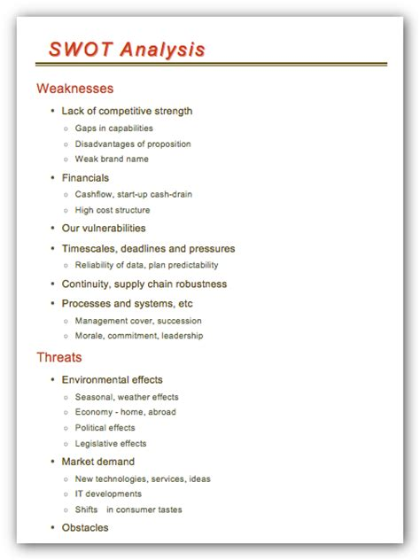 swot analysis template doc strategic planning cycle diagram strategic planning