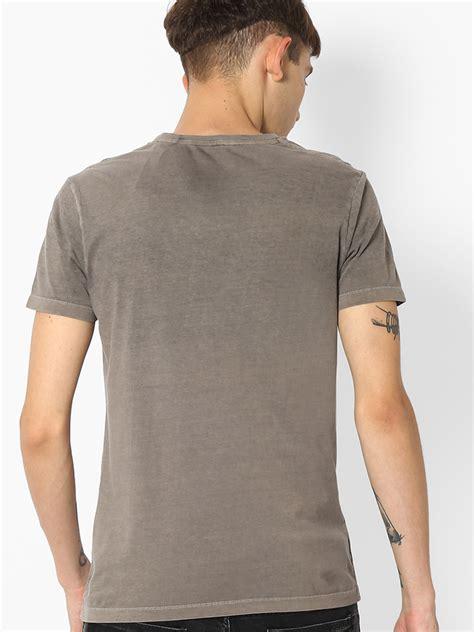 spyker grey cotton plain t shirt g3 mts4591 g3fashion