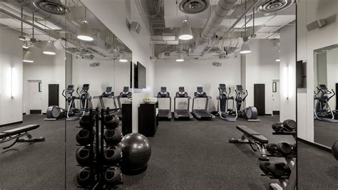 hotel fitness center  kimpton everly hotel
