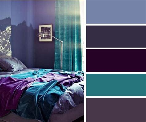 blue and purple color palette ideas 20 home decor ideas and turquoise color combinations