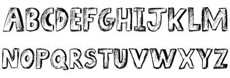 sketch book font sketch book font