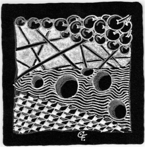zentangle pattern cubine zentangle vom 21 dezember 2014 patterns poke root