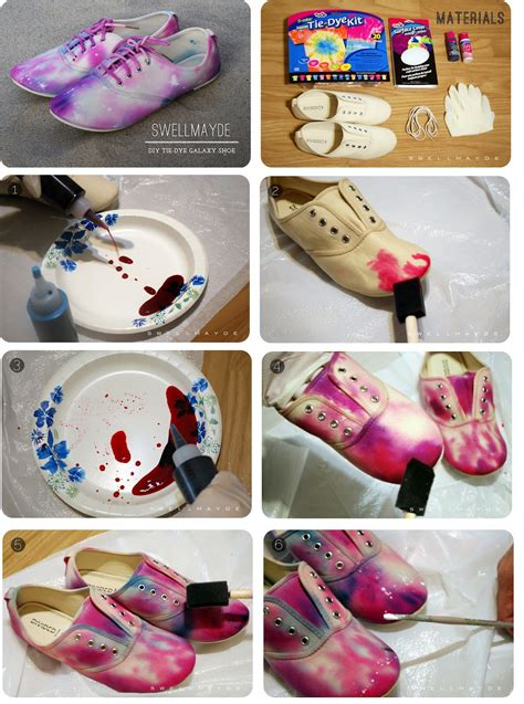galaxy shoes diy natbee s fashion diy galaxy shoes