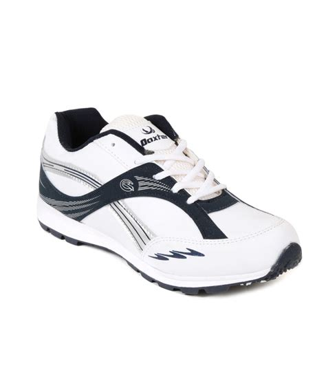 daxter white synthetic leather sport shoes price in india
