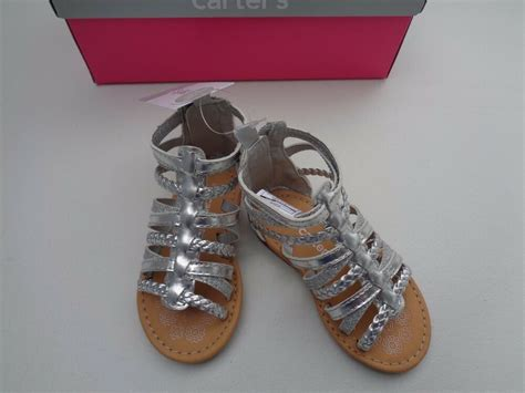 new s silver metalic shoes size 5 sandals dress shoes zip 34 99 ebay