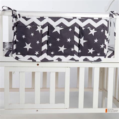 Baby Bed Hanging Storage Bag Cotton Newborn Crib Organizer Baby Crib Hanging Thing