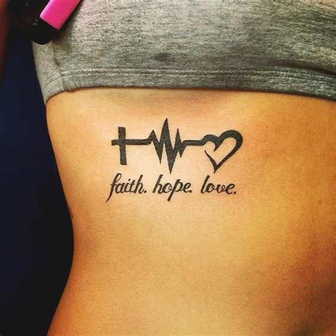 faith hope love tattoo 45 perfectly faith tattoos and designs with