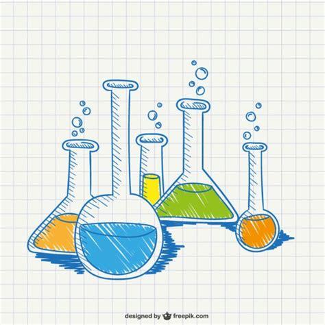imagenes de quimica faciles para dibujar dibujo conceptual de qu 237 mica descargar vectores gratis