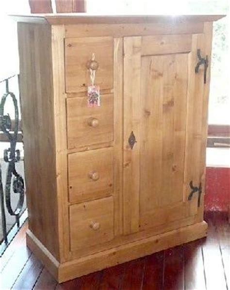 armoire 4 porte armoire 1 porte 4 tiroirs en vieux bois recycl 233 style antique 174