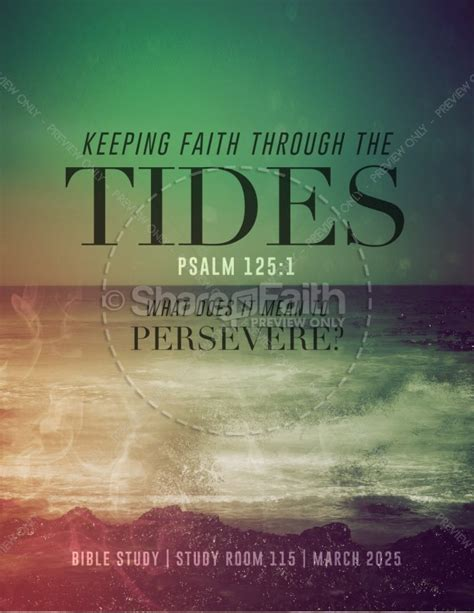 Faith Through Tides Christian Flyer Template Flyer Templates Christian Flyer Templates Free