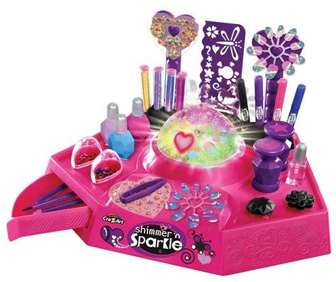 tattoo maker toys r us cra z art shimmer sparkle designer nail body art