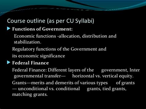 Local Government Course Outline by Finance Introduction Hcc Econ Sm Vb 2016 17 Lecture 1