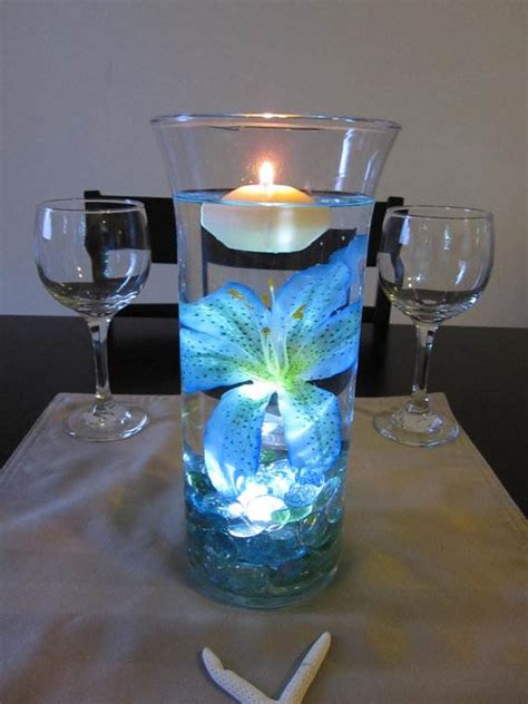 centerpieces with candles and flowers floating flowers and candles centerpieces family