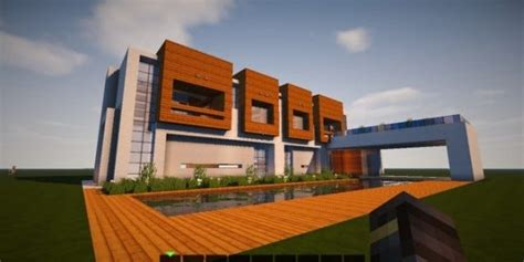 modern house building the escape modern house minecraft building inc