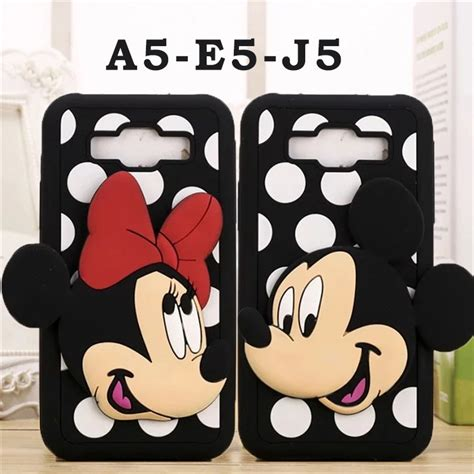 Samsung J5 3d Silicone Mickey Minnie Mouse Cover Casing Bumper kopen wholesale samsung muis uit china samsung muis