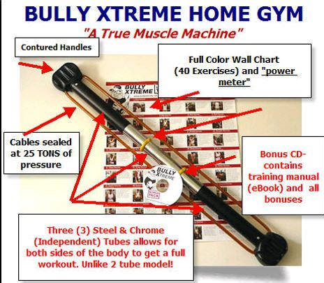bullworker alternative the bully xtreme exerciser