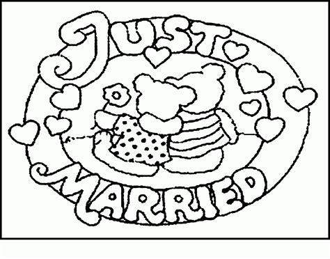 coloring pages for weddings coloring pages for kids at wedding az coloring pages