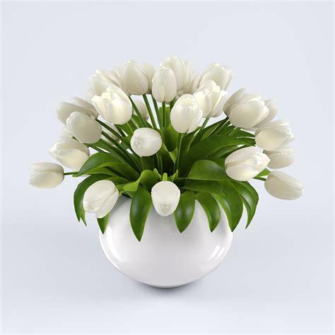 Vases For Tulips by Vase Tulips 2 3d Model