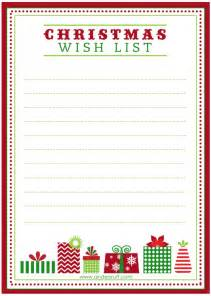 wish list template free traditions out with the in with the new